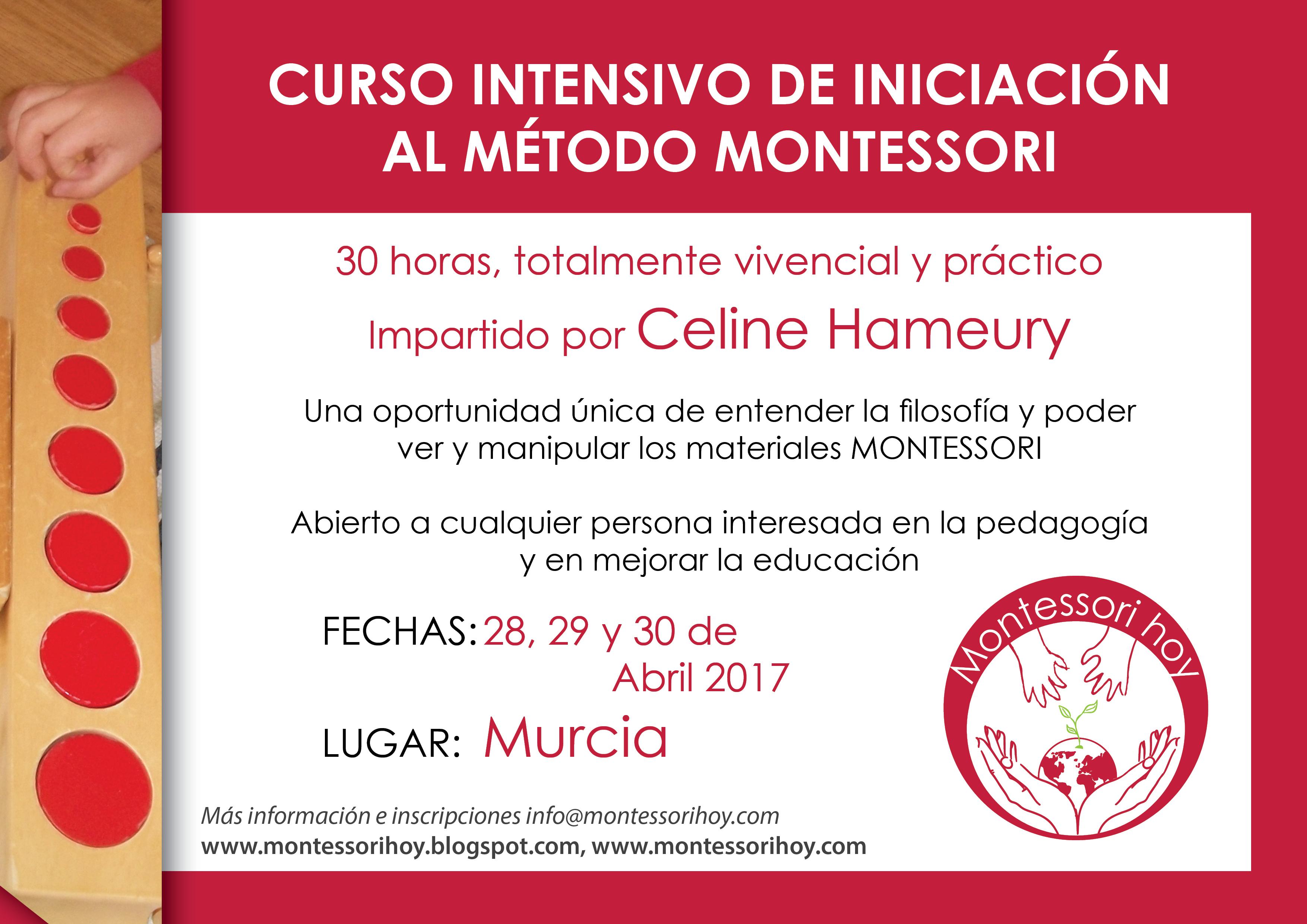 16-06-11 CURSO INTENSIVO MONTESSORI murcia
