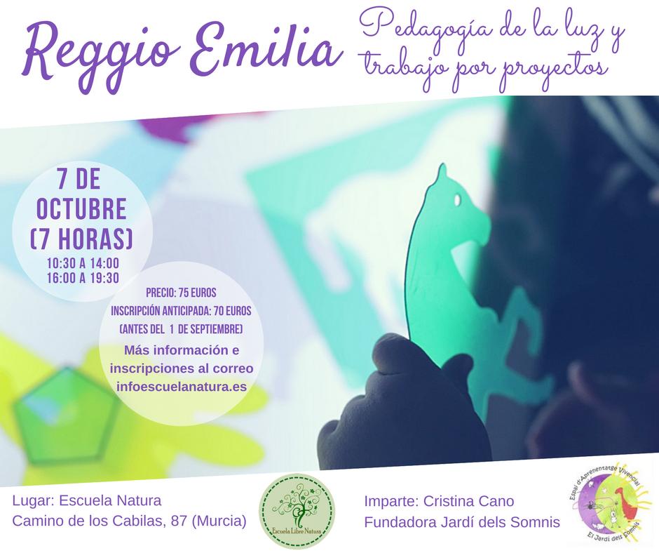 Reggio Emilia- Pedagogía de la luz y trabajo por proyectos