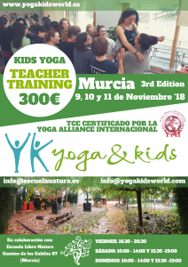 Yogakids en Noviembre